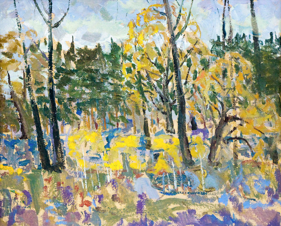 Харин Г.Е. Осенний пейзаж