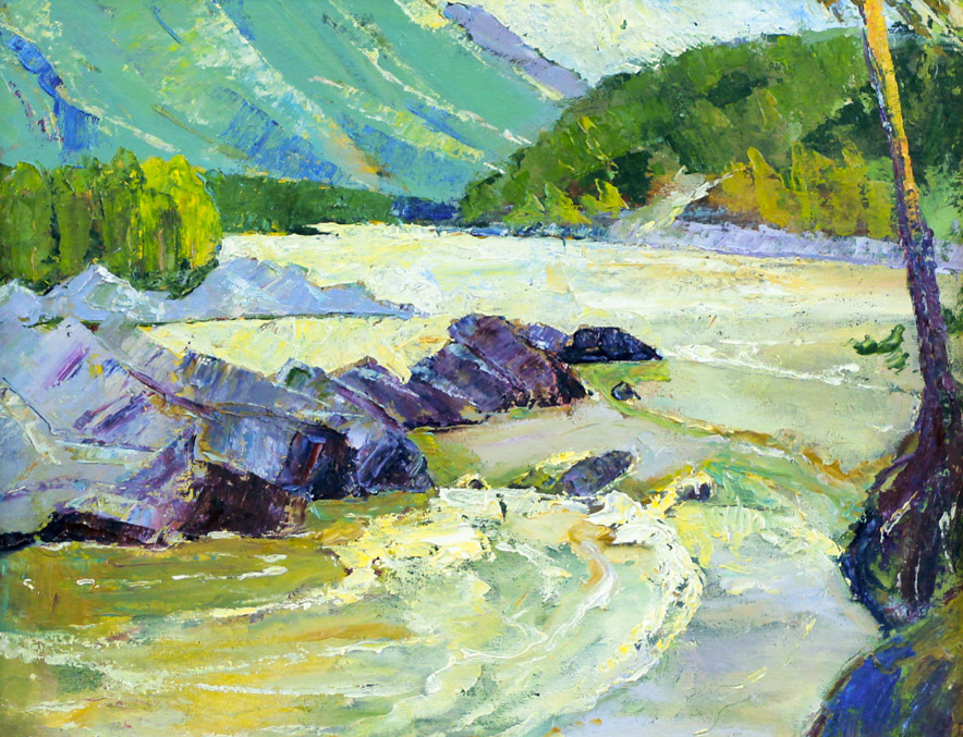 Стремоухова С. Горная река