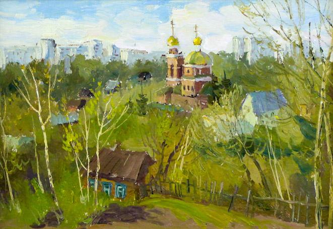 Ахметшин Р. Уфимский пейзаж II