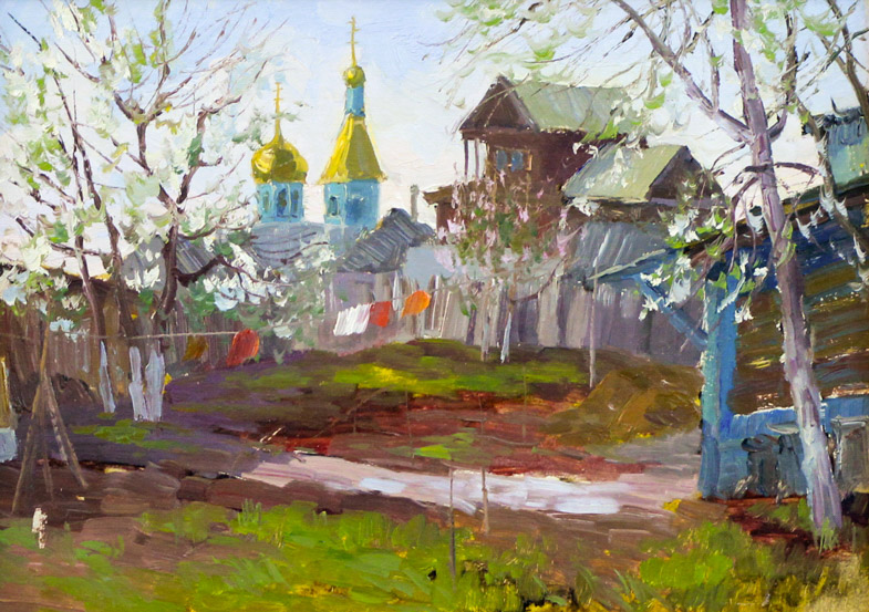 Ахметшин Р. Пейзаж в старой Уфе