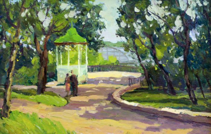 Парк в старой Уфе