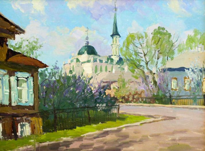 Ахметшин Р. Мечеть на улице Г.Тукая
