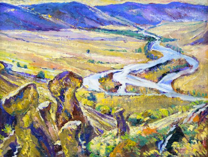 Стремоухова С. Горный пейзаж