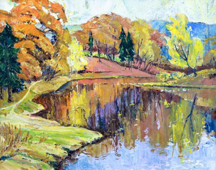 Стремоухова С. Золотая осень в Башкирии