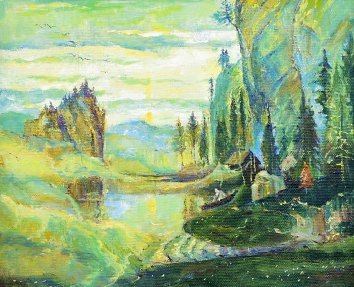 Стремоухова С. Лирический пейзаж