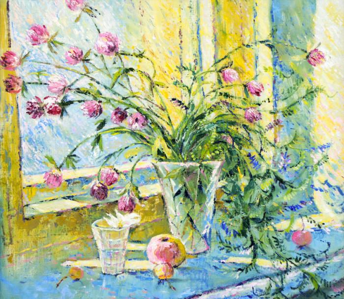 Стремоухова С. Цветы на окне