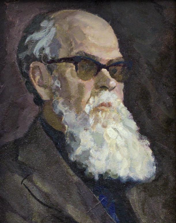 Ростемберский Ю.В. Портрет художника Огородова Г.В.