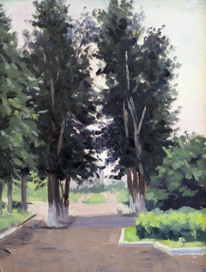 Огородов Г.В. Улица Победы