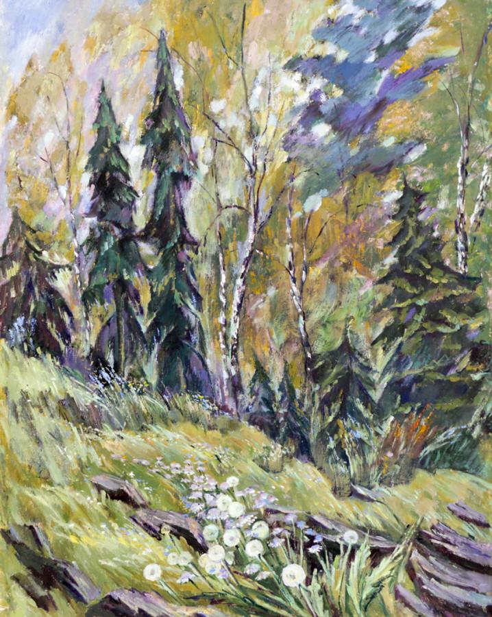 Ростемберский Ю.В. В лесу