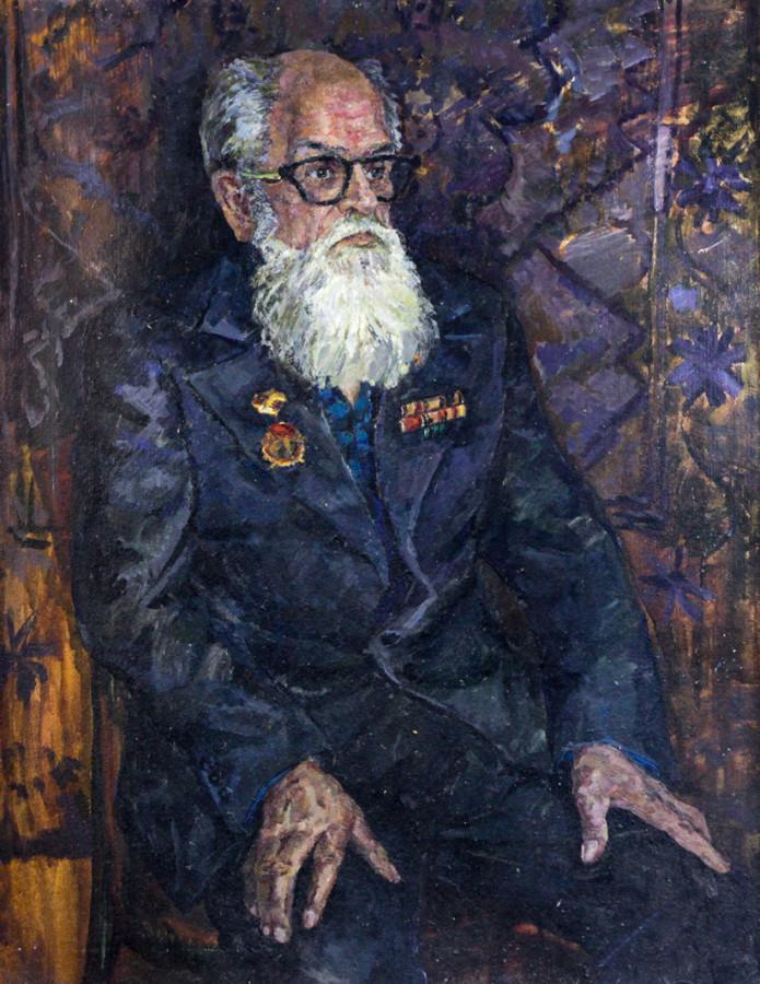 Ростемберский Ю.В. Портрет худ. Огородова