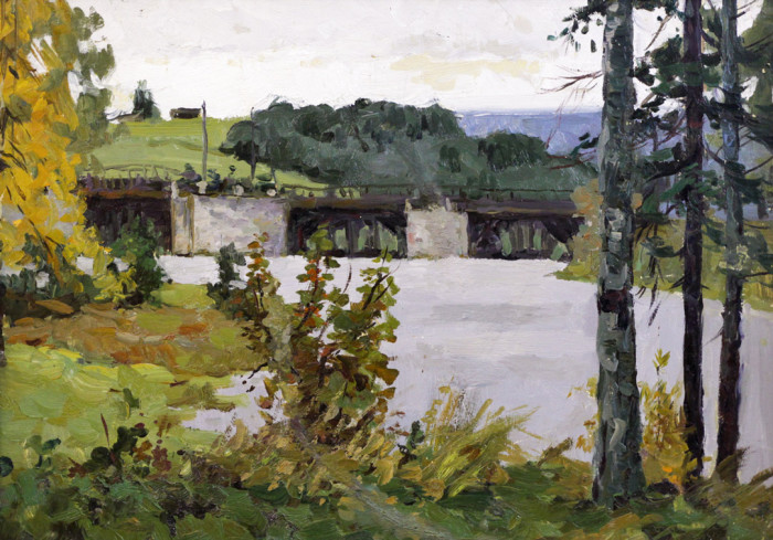 Круль Л.Я. Плотина на реке