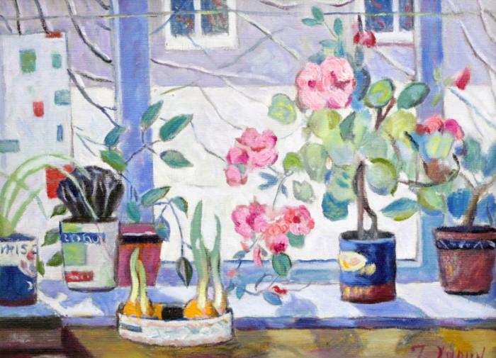 Харин Г.Е. Цветы на окне