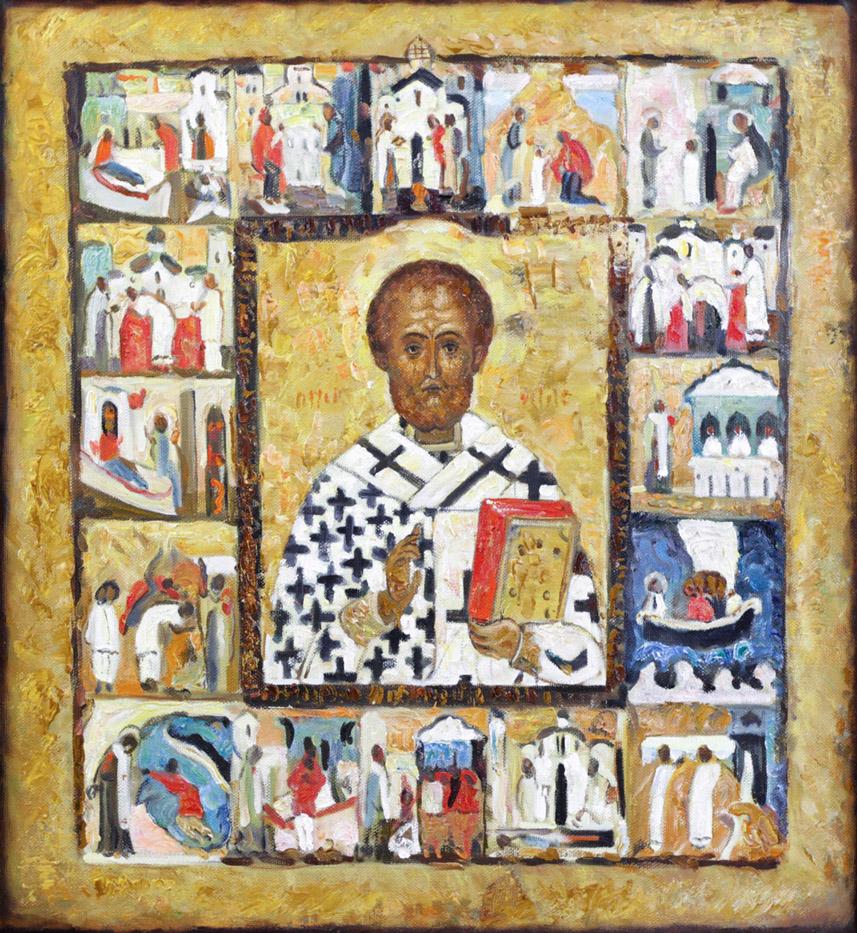 Магасумов Д.М. Икона Св. Никола с житием
