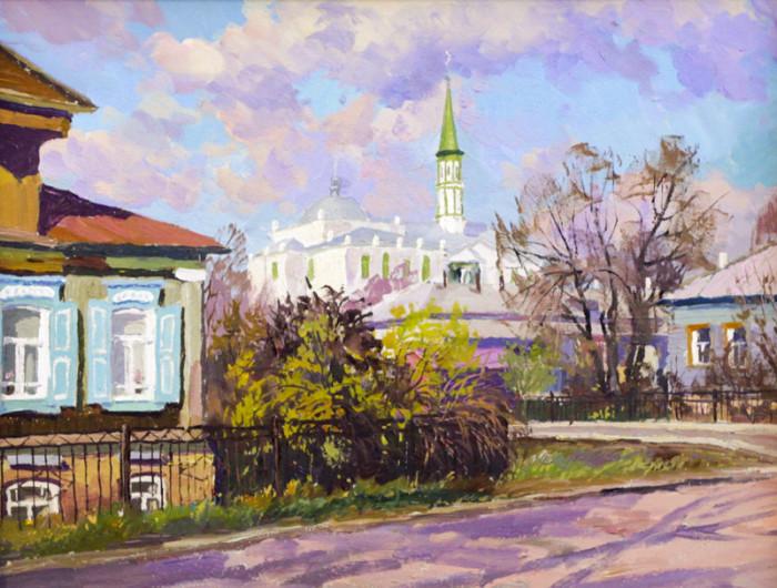 Ахметшин Р. Вид с мечетью