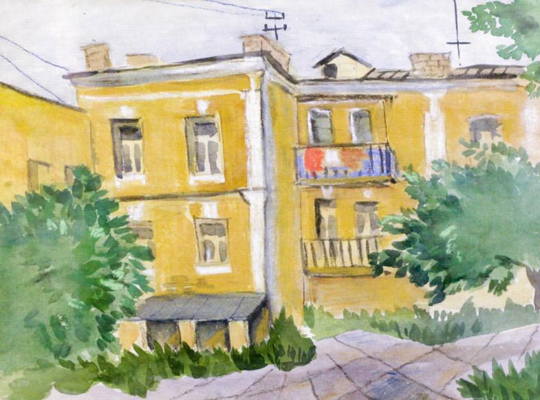 Ростемберский Ю.В. Старый Уфимский дворик
