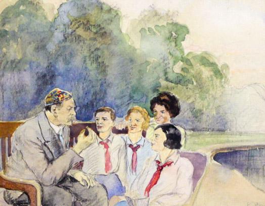 Огородов Г.В. Горький и дети