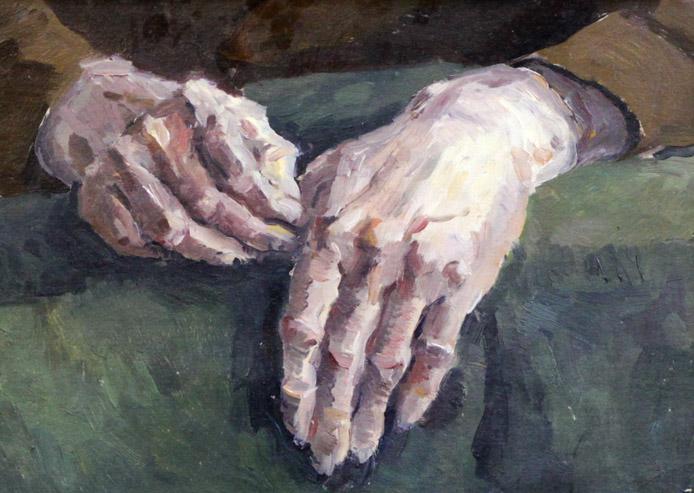 Стремоухова С. Этюд (руки)