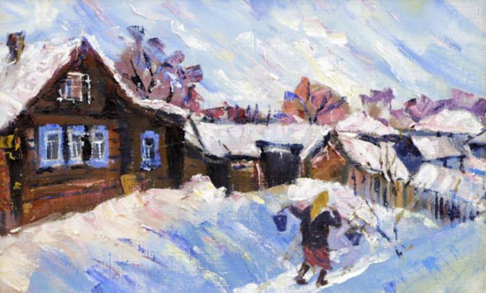 Стремоухова С. Зимой в деревне под Уфой