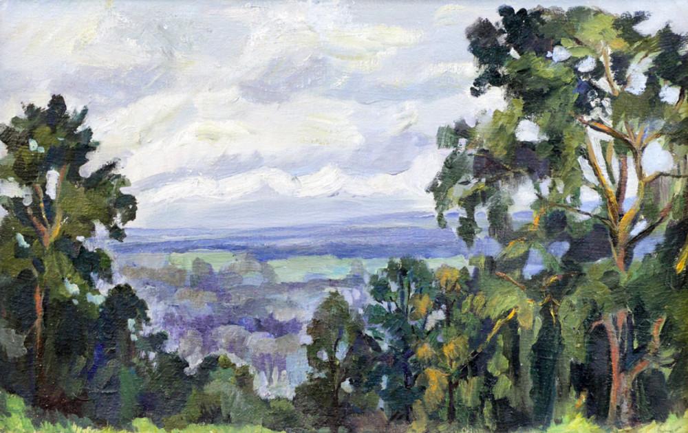 Ростемберский Ю.В. Вид на реку Белая с парка Победы