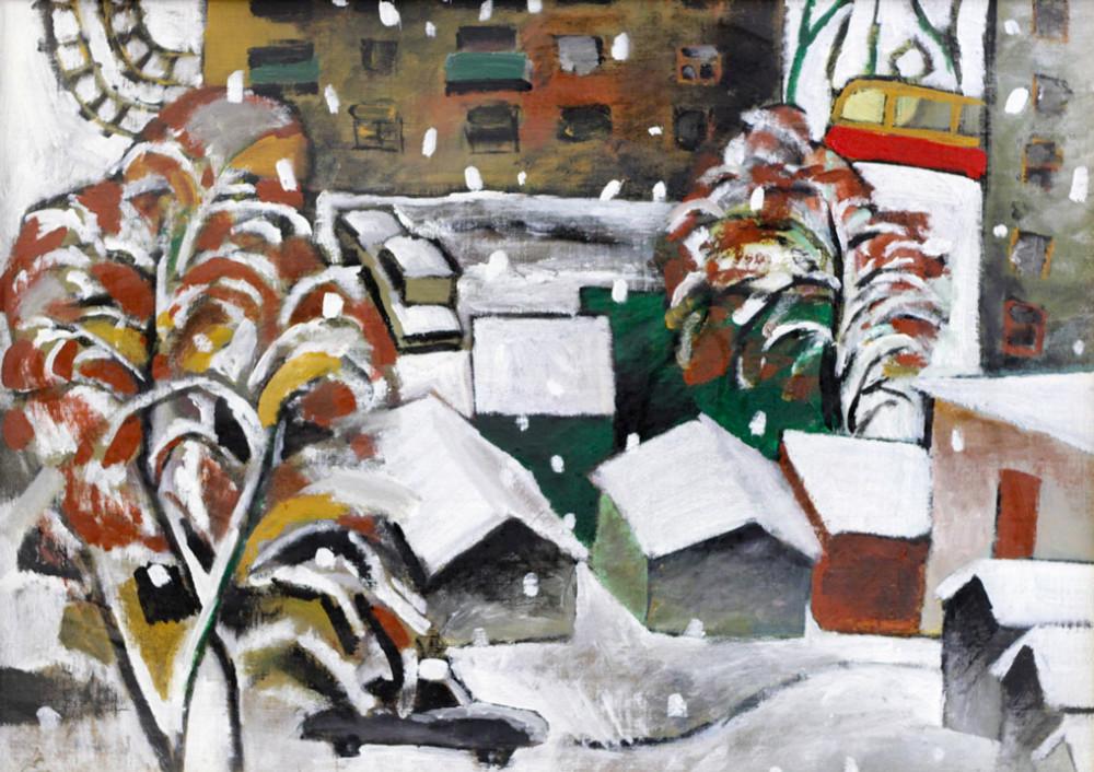 Цимболенко О. Зима на дворе II