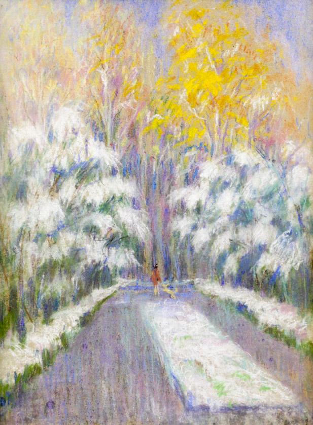 Огородов Г.В. Первый снег
