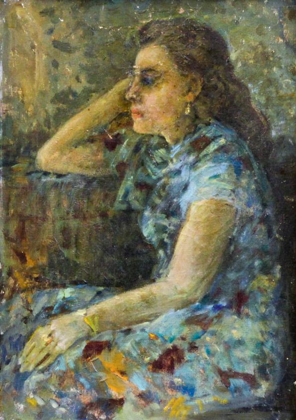 Головченко К.А. Портрет жены