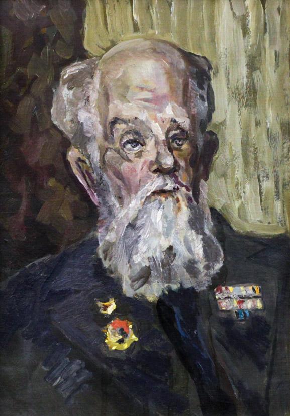 Рыбаков А.А. Портрет Огородова Г.В.
