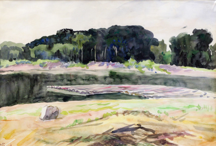 Огородов Г.В. На реке Белой