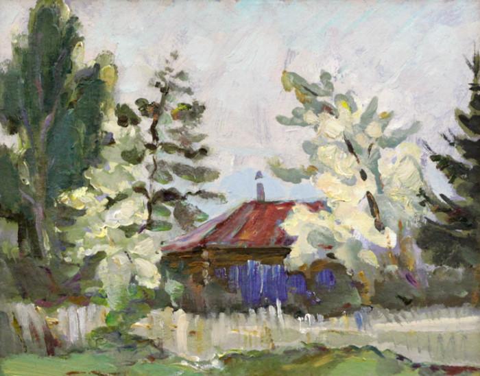Ростемберский Ю.В. Дом с красной крышей