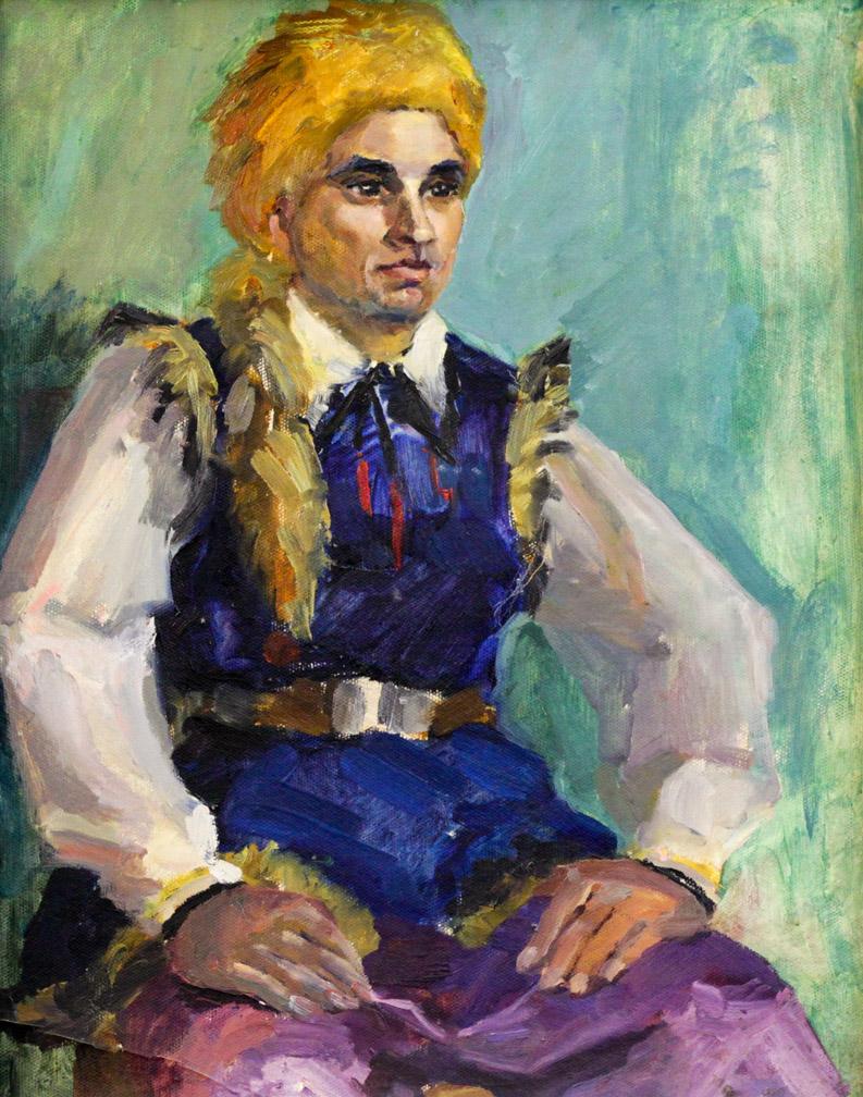 Ростемберский Ю.В. Танцор в башкирском костюме