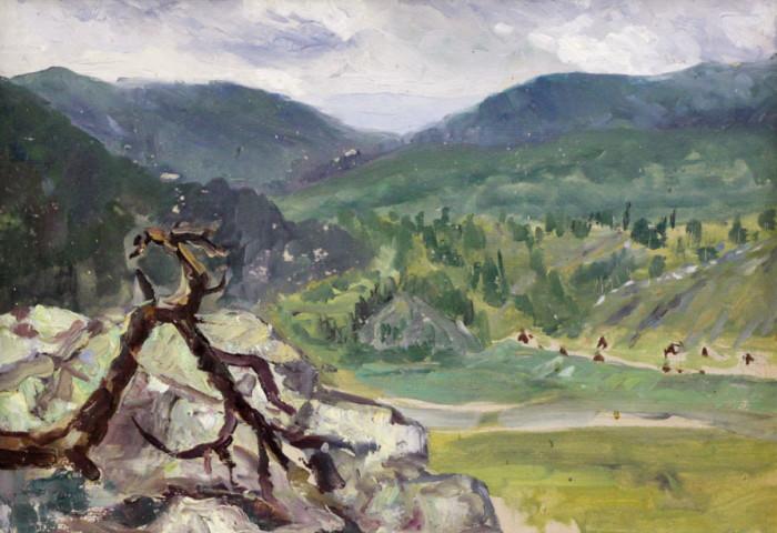 Харин Г.Е. Горный пейзаж