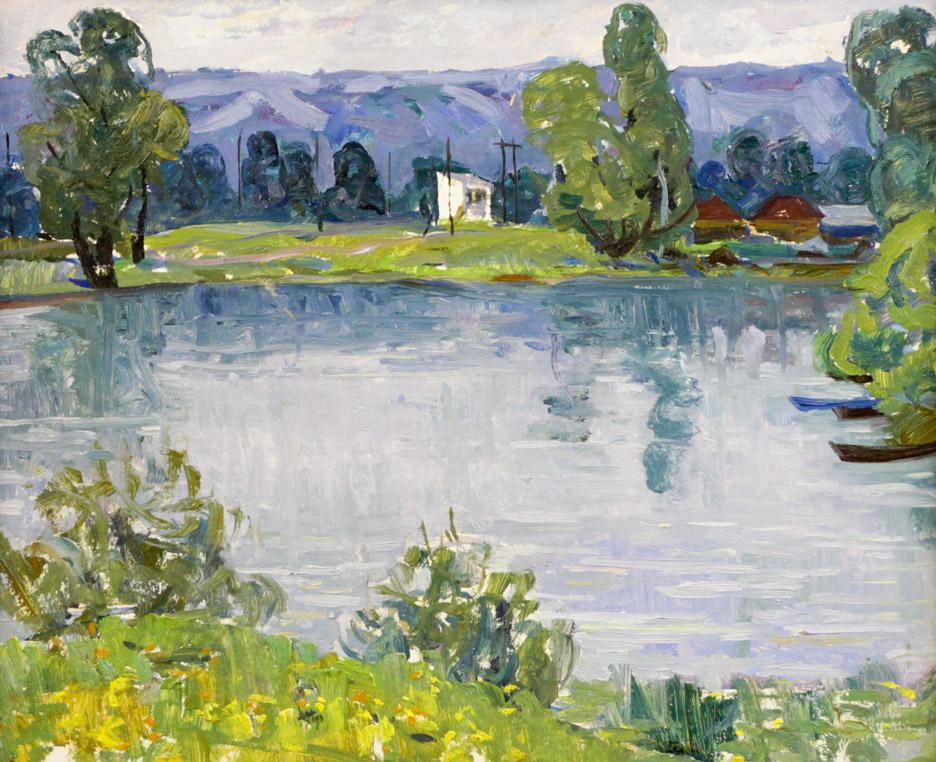 Харин Г.Е. На Максимовском озере