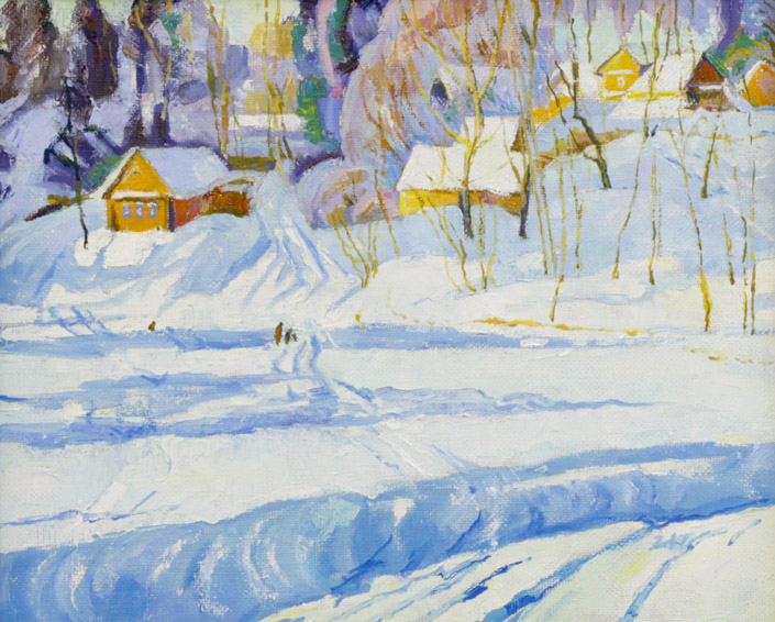 Стремоухова С. Морозный день