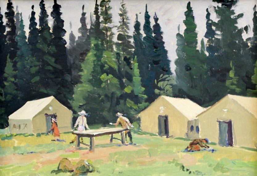 Огородов Г.В. Лагерь