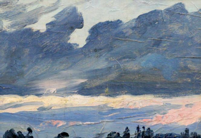 Мустаев Р.Х. Тёмные облака