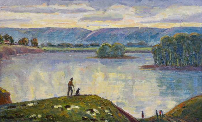 Харин Г.Е. Вечером на реке