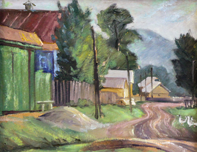 Мустаев Р.Х. В деревне