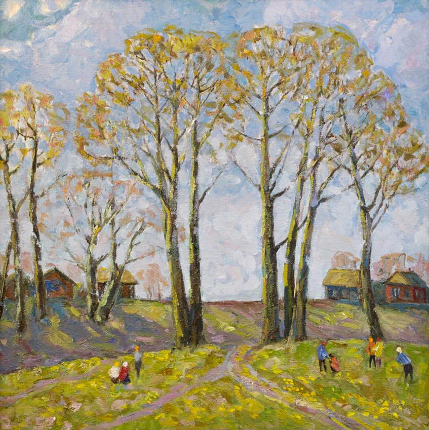 Харин Г.Е. Весна в деревне
