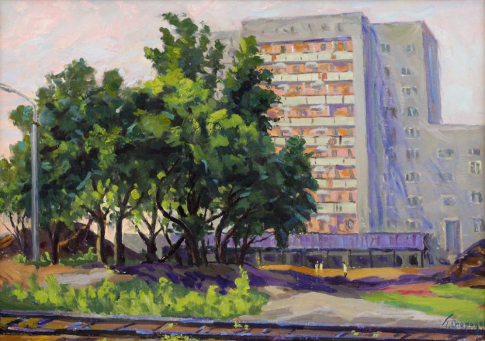 Огородов Г.В. Новый дом