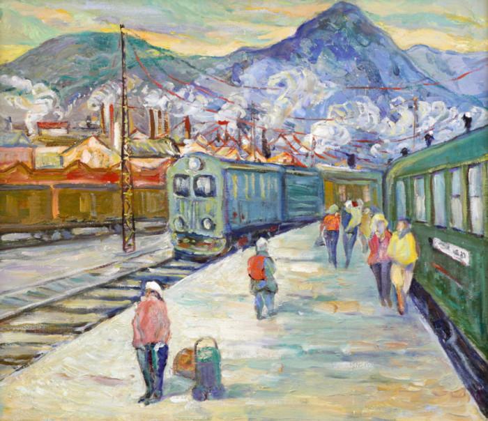 Харин Г.Е. На станции
