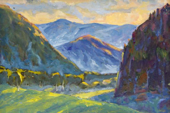 Харин Г.Е. Башкирский пейзаж
