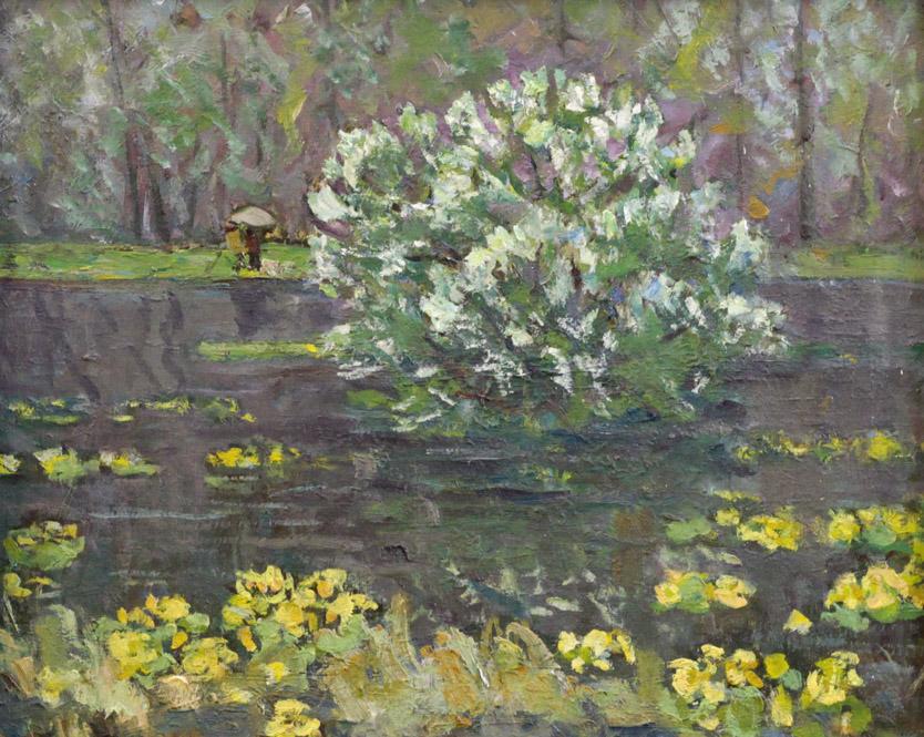 Харин Г.Е. Черемуха цветет