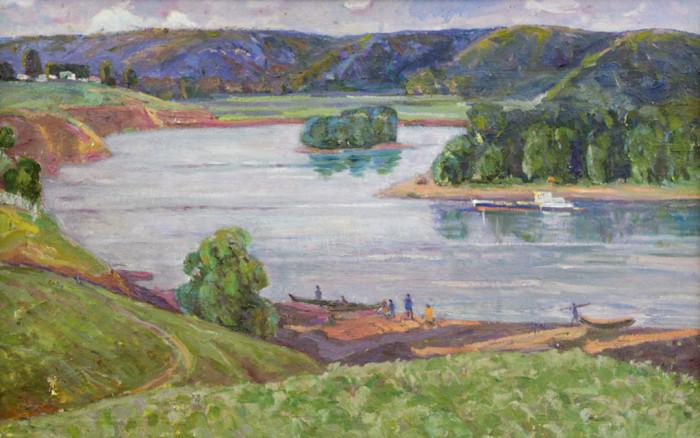Харин Г.Е. На реке Белой