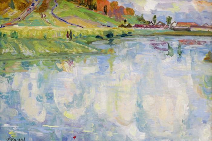 Харин Г.Е. Осень на реке Уфимке