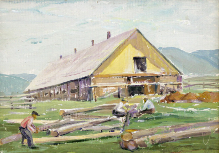 Мустаев Р.Х. Строительство коровника