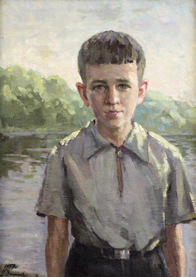 Огородов Г.В. Портрет сына Ярослава