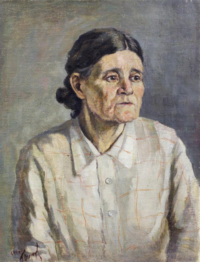 Огородов Г.В. Портрет матери