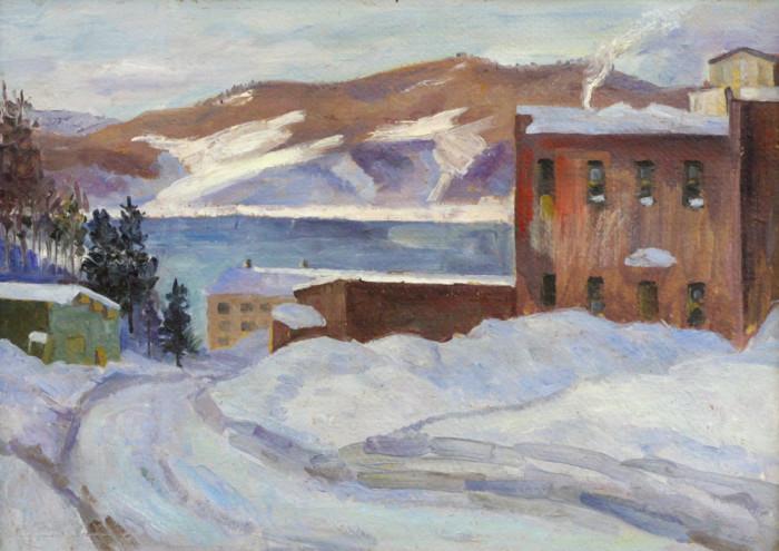 Мустаев Р.Х. Зима на Ангаре