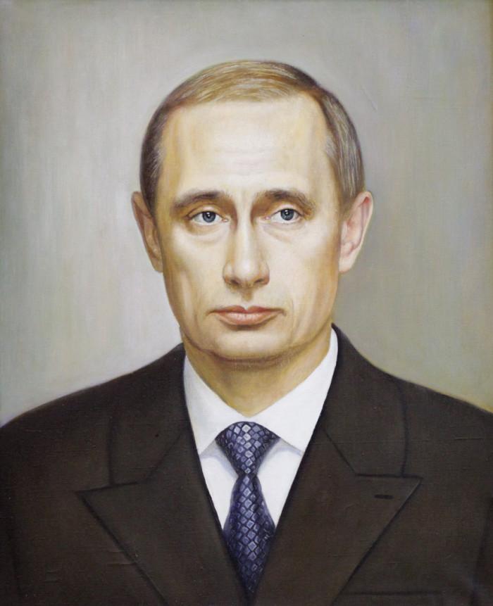 Магасумов Д.М. Портрет Путина В.В.