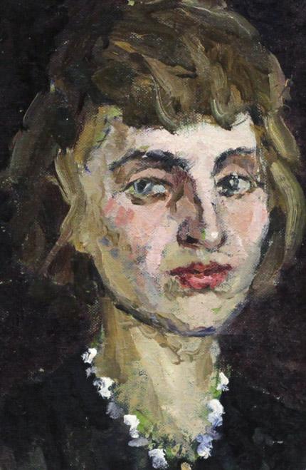 Огородов Г.В. Портрет женщины